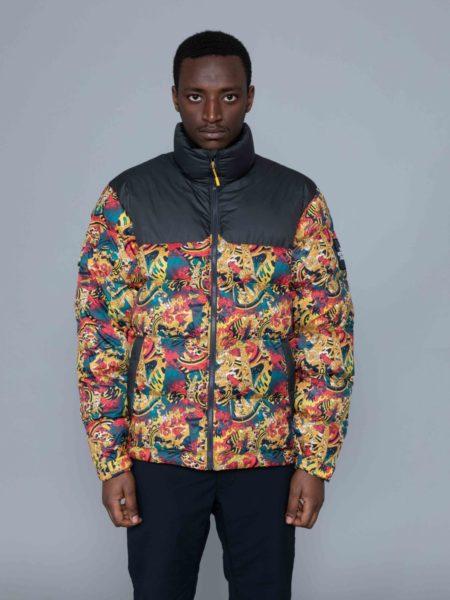 The North Face 1992 Nuptse Jacket Leopard Print vest