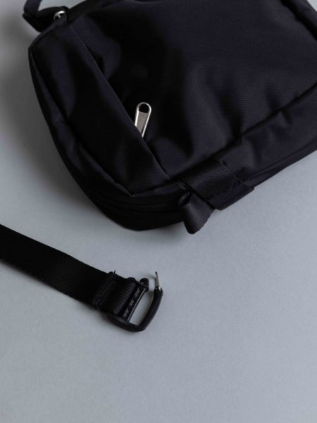 The North Face Convertible Shoulder Bag Black brussels