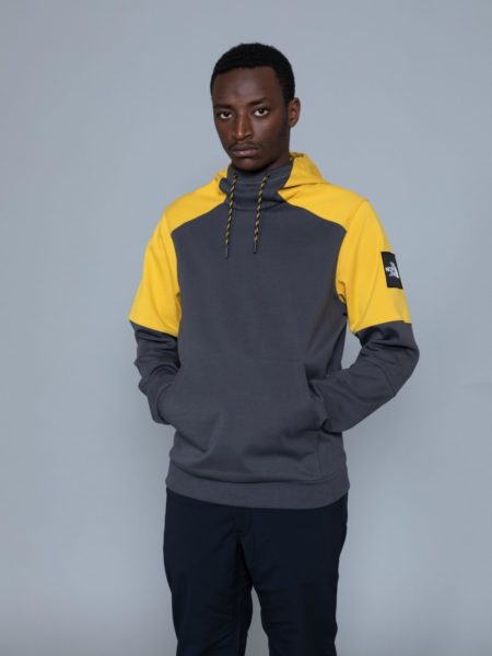 The North Face Fine Box Hoodie Grey brussels
