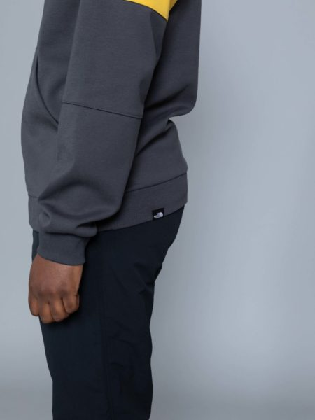 The North Face Fine Box Hoodie Grey leopard