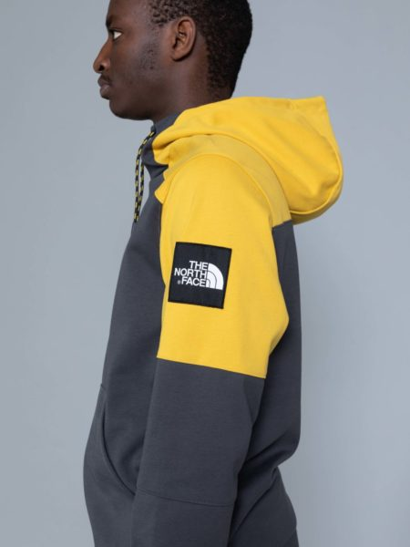 The North Face Fine Box Hoodie Grey online shop