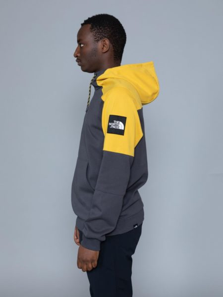 The North Face Fine Box Hoodie Grey sales