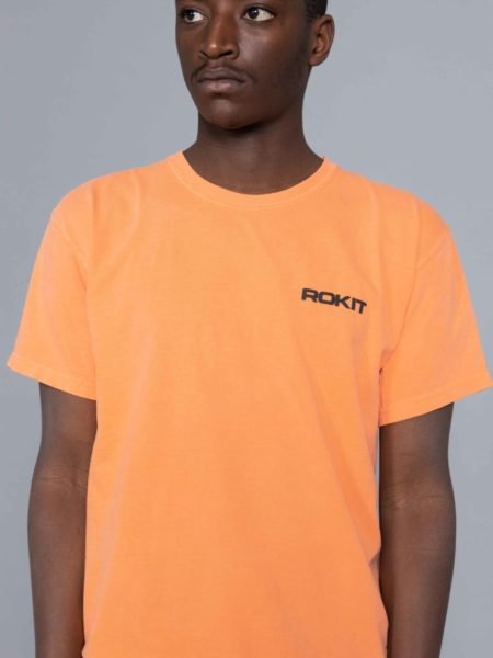 Rokit Golden SS Tshirt Orange
