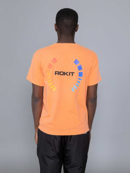 Rokit Golden SS Tshirt Orange brussel shop