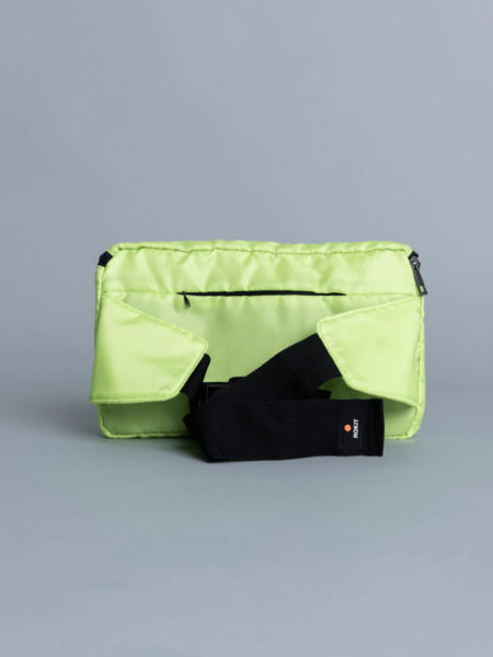 Rokit Rushmore Hipsack Lime brussels store
