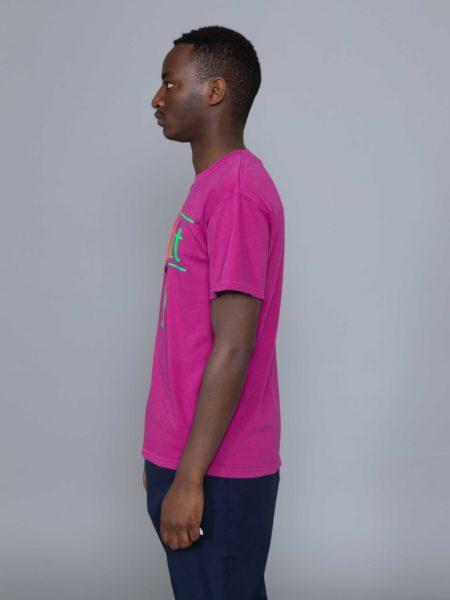 Rokit Throwback SS Tshirt Purple clothing store