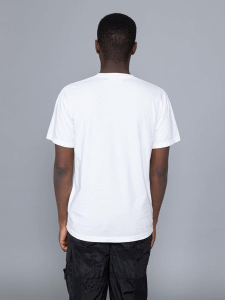 Rokit Throwback SS Tshirt White clothing store
