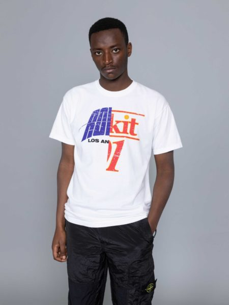 Rokit Throwback SS Tshirt White sales