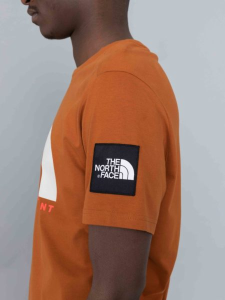 The North Face Fine Alpine Equipement Tshirt Caramel Cafe
