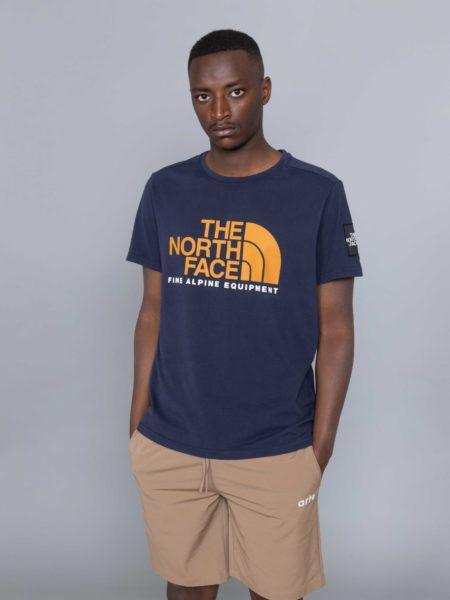 The North Face Fine Alpine Equipement Tshirt Urban Navy clothing store