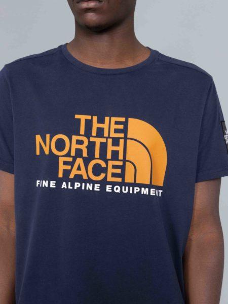 The North Face Fine Alpine Equipement Tshirt Urban Navy nuptse
