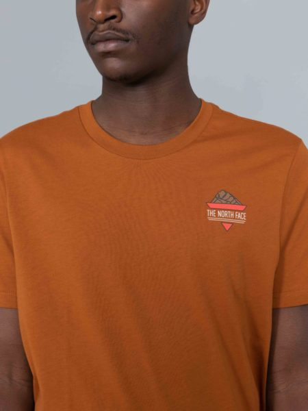 The North Face Ridge Tshirt Urban Caramel Cafe clothing store brussels