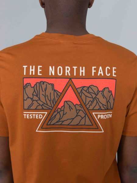 The North Face Ridge Tshirt Urban Caramel Cafe shop brussels