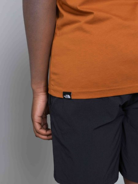 The North Face Ridge Tshirt Urban Caramel Cafe store brussels