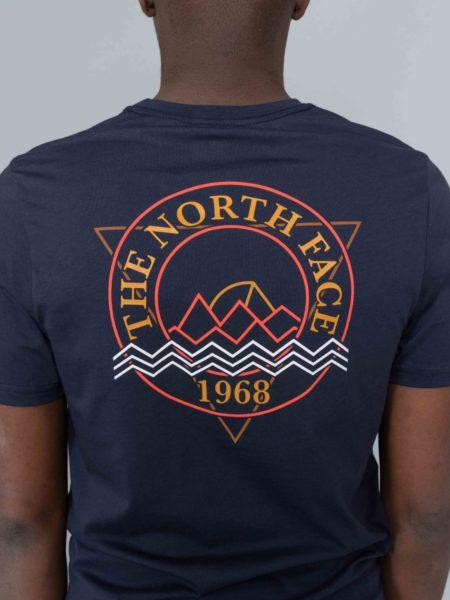 The North Face Ridge Tshirt Urban Navy nuptse