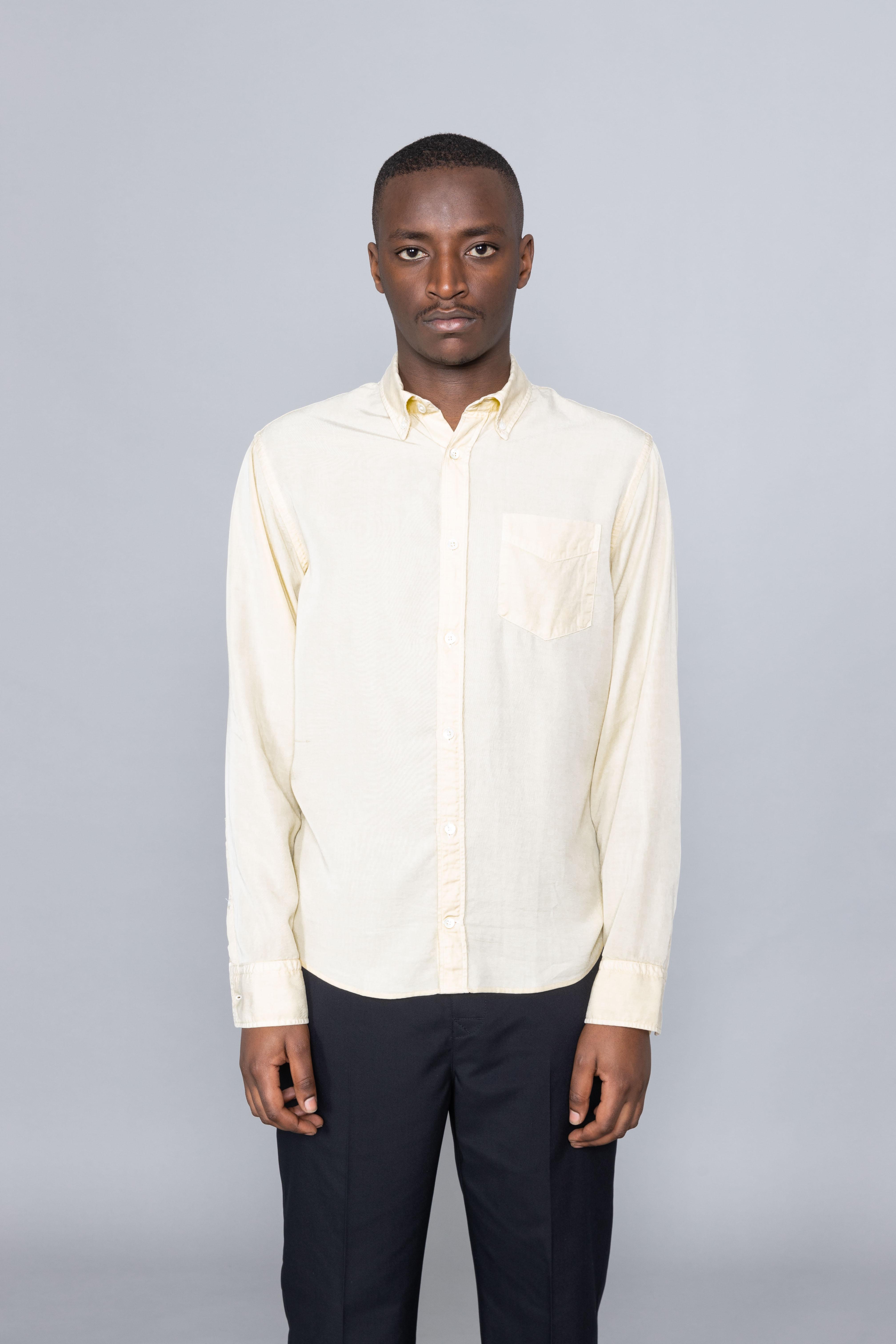 Levon Shirt Pale Sun