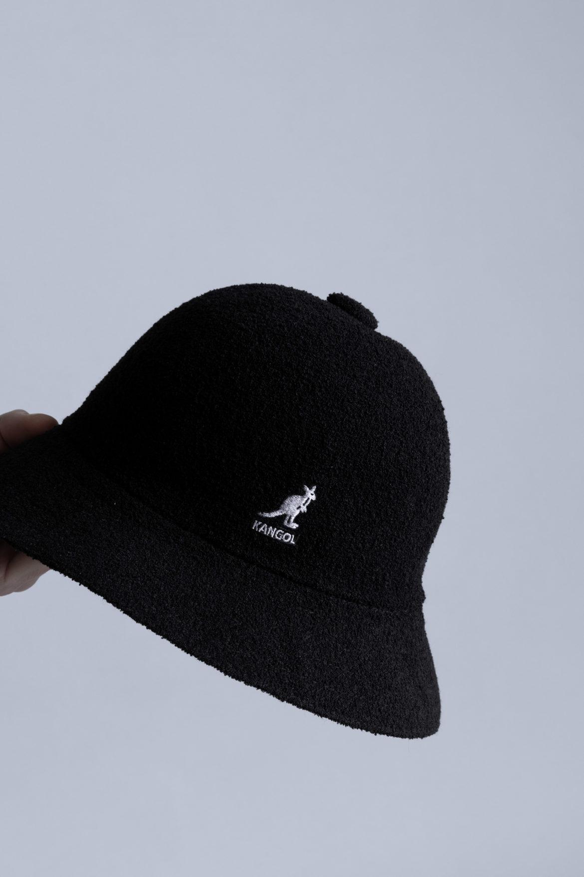 Kangol Bermuda Casual Bucket Hat Black Style Centrevillestore